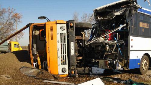 авария автобуса с жертвами