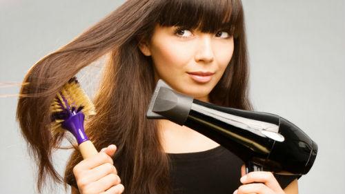 Сонник-сушить волосы феном