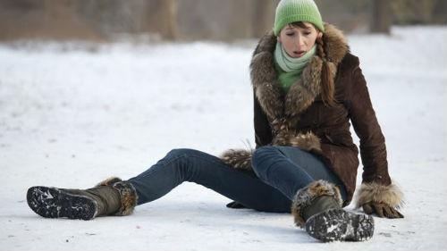 к чему снится ходить по льду женщине