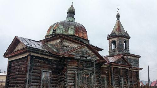 разрушенная церковь