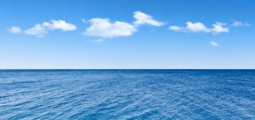 чистое голубое море во сне