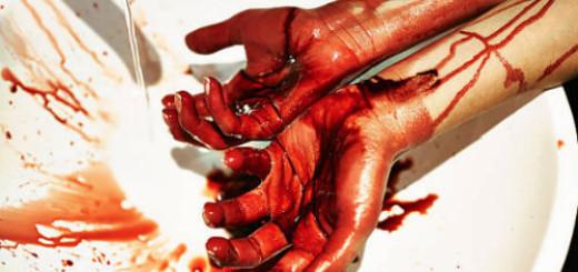 чужая кровь на руках во сне