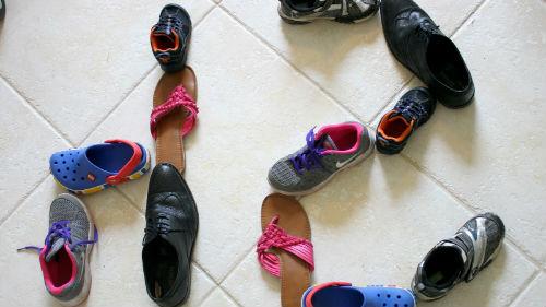 разная обувка