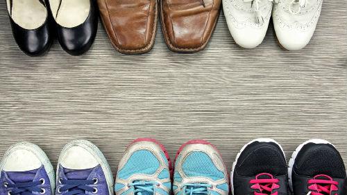 выбирать обувную пару