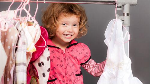 чужая девочка в платьице
