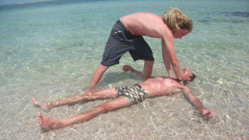 утонувший человек