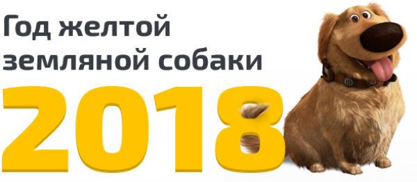 2018 год желтой собаки