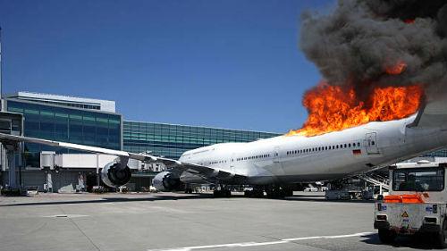 взрыв самолета во сне
