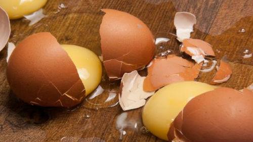 битые яйца во сне