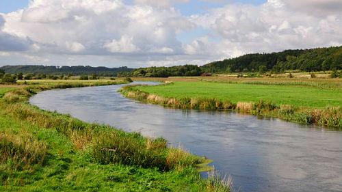 видеть извилистую реку