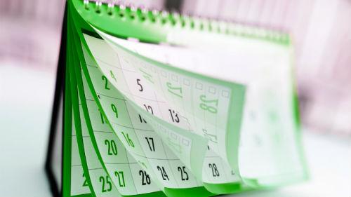 видеть как листаешь календарь