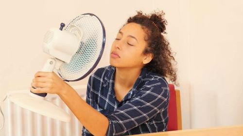 спасаться под вентилятором