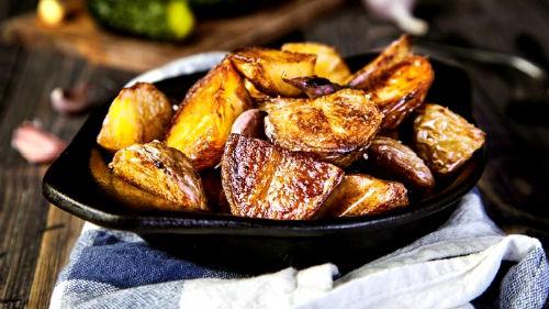видеть зажаренную картошку