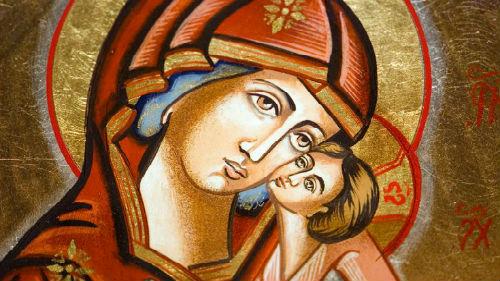видеть икону девы марии