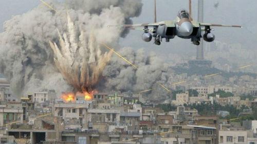 война бомбежка во сне