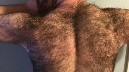 Сон муж спина волосатая