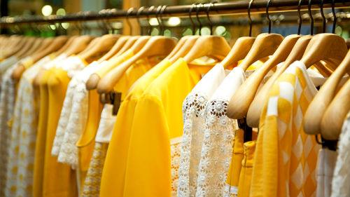 видеть много одежды