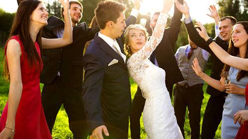 очень веселая свадьба