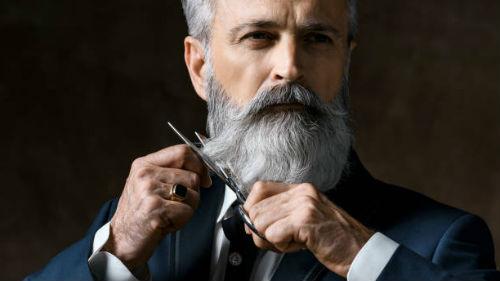 видеть седовласого бородача