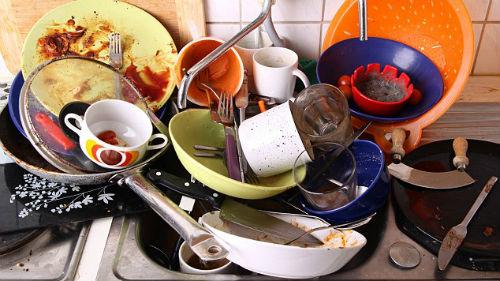 грязная посуда во сне