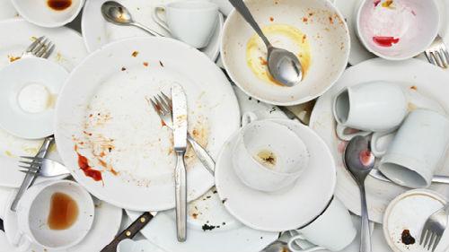 к чему снится грязная посуда