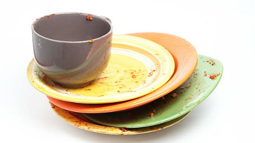 чужая посуда