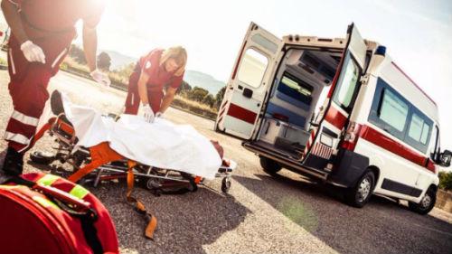видеть аварию на дороге