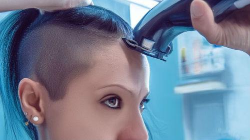брить волосы на голове во сне