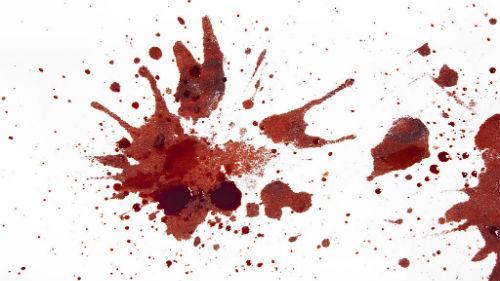 кровавые брызги