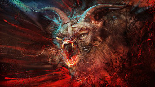 к чему снится демон