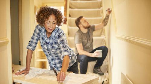требующая ремонта лестница