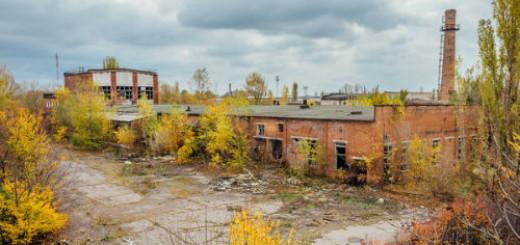 заброшенное здание во сне