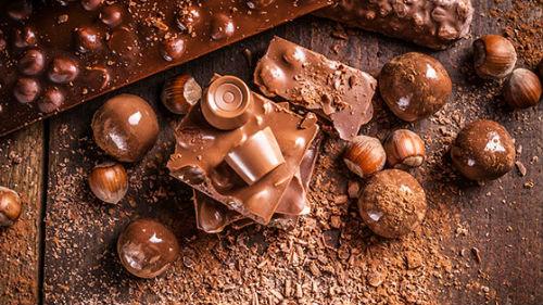 шоколад с фундуком