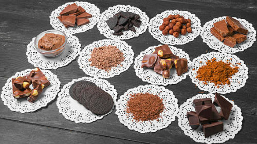 видеть шоколад