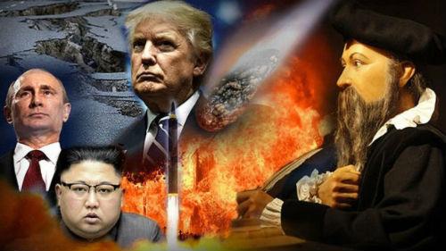 пророчество ностдрадамуса 2019 для росси и америки