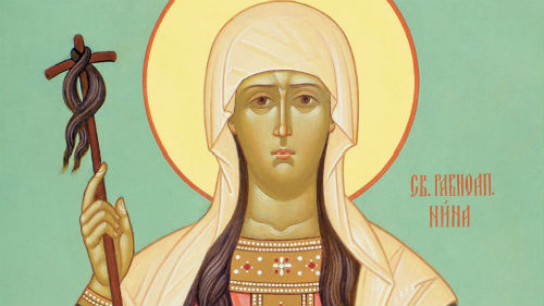 Святая Нина - праздник 27 января