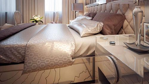 видеть красивую постель
