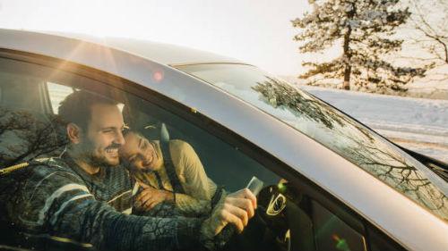 ехать в машине с любимым во сне