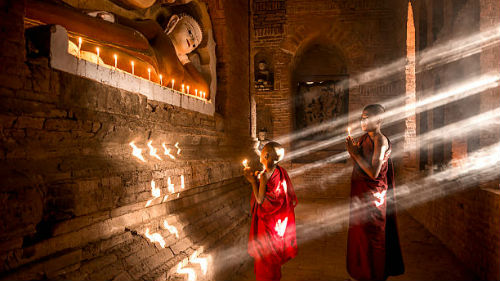 видеть ритуал в храме