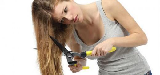 обстричь волосы во сне