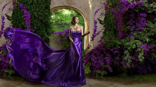 видеть вечернее платье