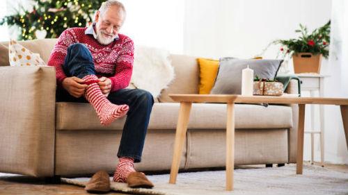 видеть красные носки