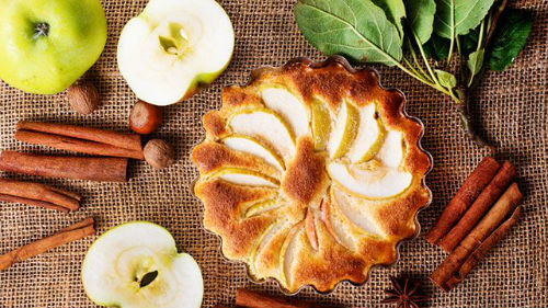 праздничные блюда на яблочный спас
