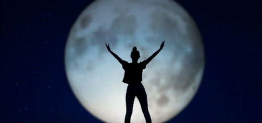 луна большая и полная во сне