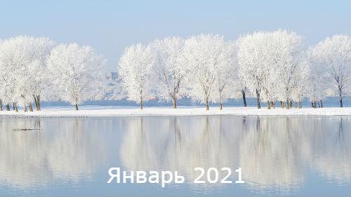 гороскоп на январь 2021 года